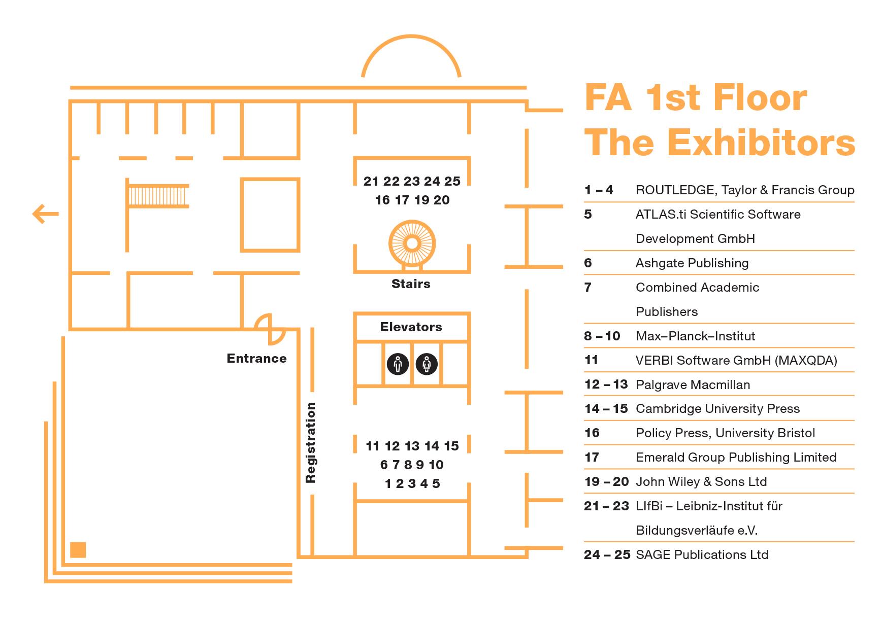 FA - 1st floor - exhibitors
