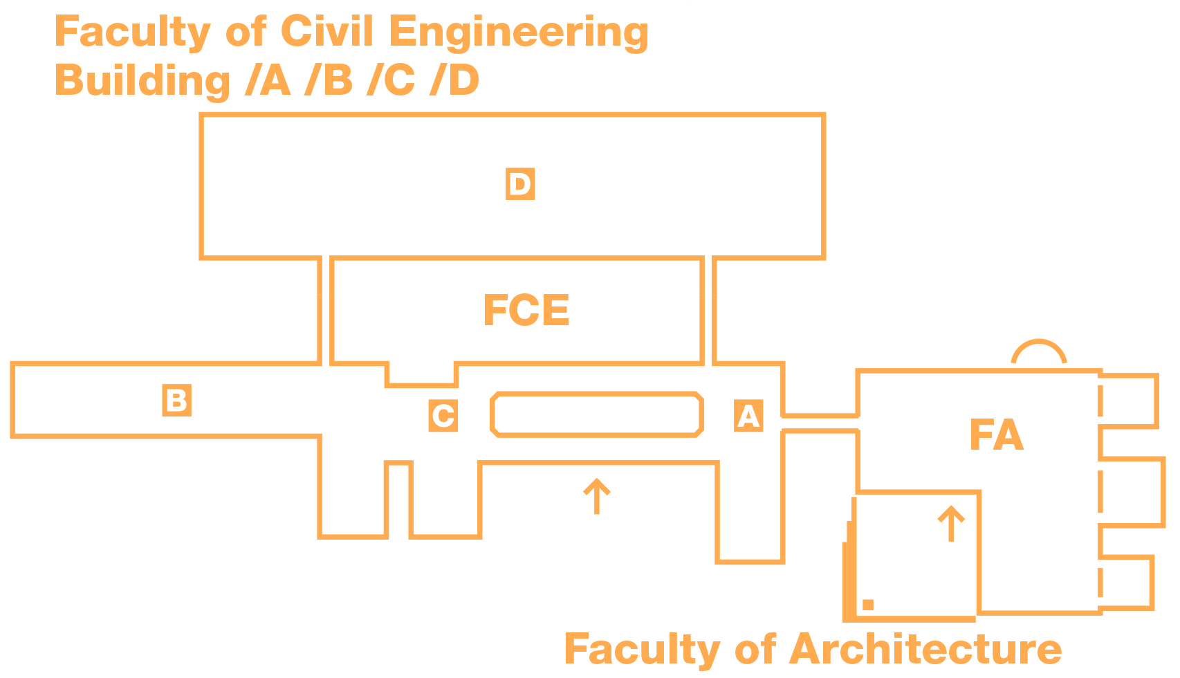 Plan of buildings